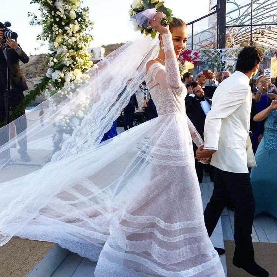 Свадбата на Ана Беатриз Барос и Карим Ел Чиати