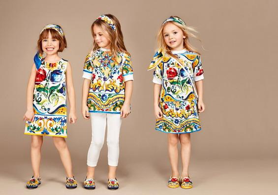 Детска колекција Долче и Габана