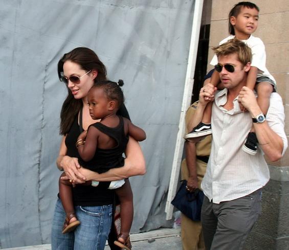 Анџелина Џоли и Бред Пит