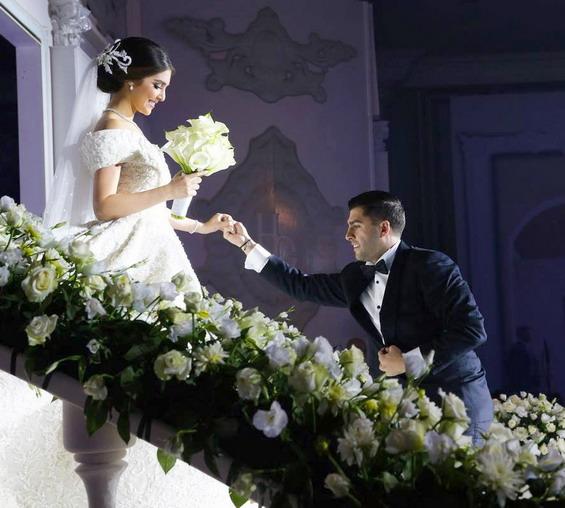 Свадбата на Ховиг Јесајан и Гаеле Најаријан