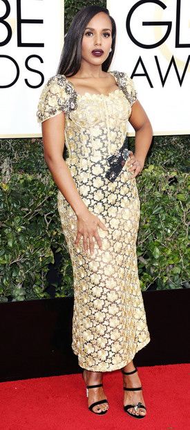 Кери Вашингтон во Dolce & Gabbana