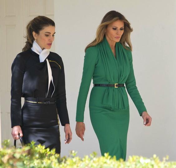 Меланија и Ранија