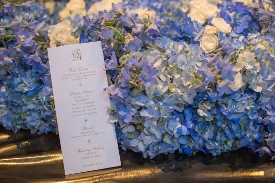 свадбата на Серена и Алексис