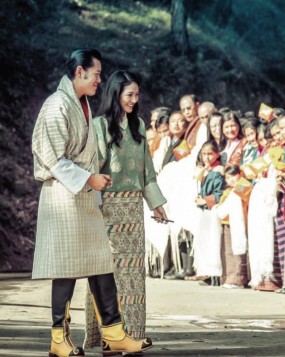 Кралицата на Бутан