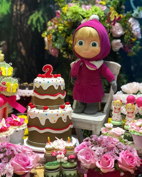 """Тематски роденден """"Маша и Медо"""""""