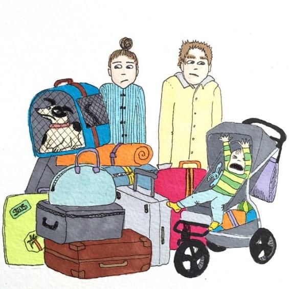 илустрации за мајчинството