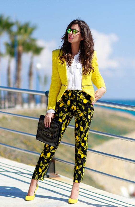 Модни комбинации во жолто