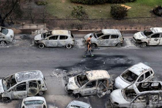 Пожари во Грција