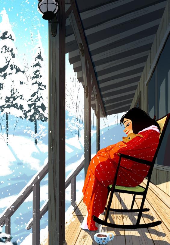 Илустрациите на Јаојао Ма Ван Ас
