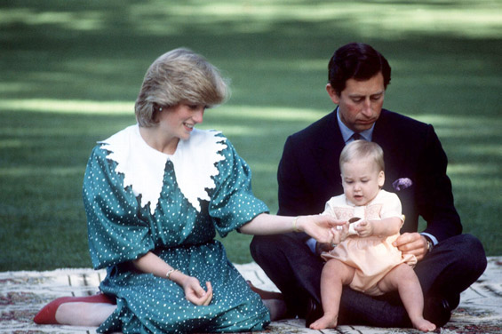 Дијана, Чарлс и малиот Вилијам