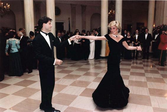 Дијана и Џон Траволта во Белата куќа