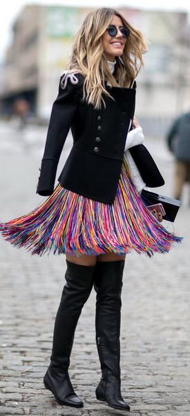 Улична мода во Њујорк